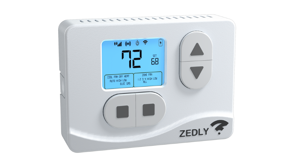 RV Thermostat with Wi-Fi Sensors