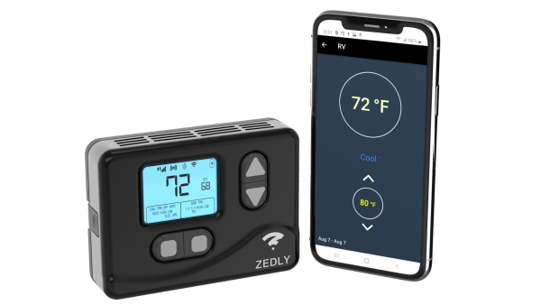 zedly rv wifi thermostat and phone app