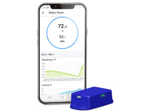 RV Temperature Monitoring (via WiFi)